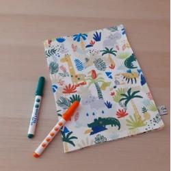 Cahier de coloriage lavable...
